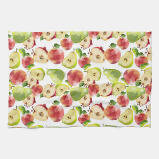 Apfel-und Birnen-Geschirrtuch Küchentuch