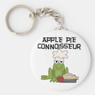 Apfelkuchen-Kenner-T-Shirts und Geschenke Standard Runder Schlüsselanhänger