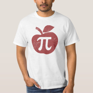 Apfelkuchen-PU-Tag T-Shirt
