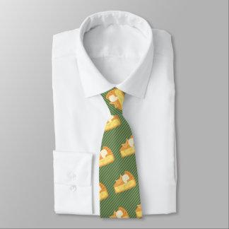 Apfelkuchen-Scheibe-Grafik- wählen Sie Hintergrund Individuelle Krawatte