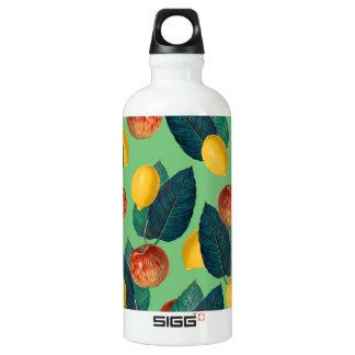 aples und Zitronengrün Wasserflasche