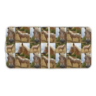 Appaloosa-Pferd, Foto-Collage, Klapptisch Beer Pong Tisch