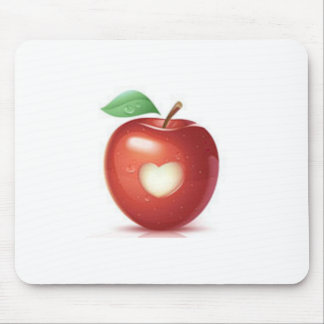 Apple-Herz Mousepad