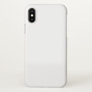 Apple iPhone X glatter Fall iPhone X Hülle