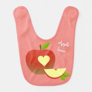 Apple-Liebe Lätzchen