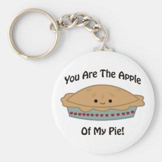 Apple meiner Torte Schlüsselanhänger