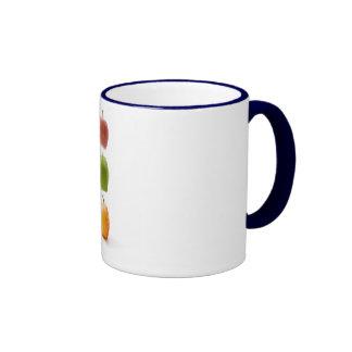 Apple setzen Zeit fest Kaffeetassen