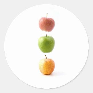 Apple setzen Zeit fest Stickers