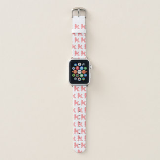 Apple-Uhrenarmband-Rosa-Pudel Apple Watch Armband