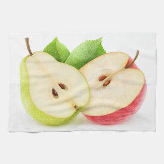 Apple und Birne Geschirrtuch