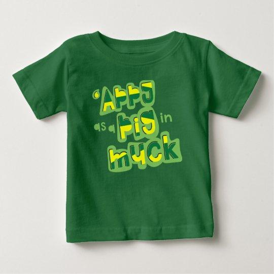 'Appy als Schwein im Baby T-shirt