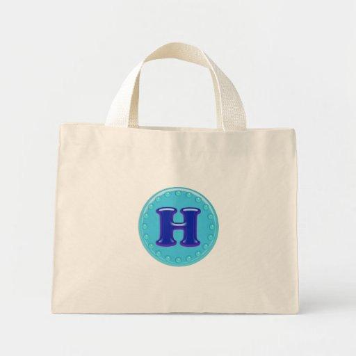 Aqua Anfangsh Einkaufstaschen