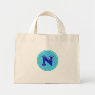 Aqua Anfangsn Einkaufstasche