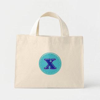 Aqua Anfangsx Einkaufstasche