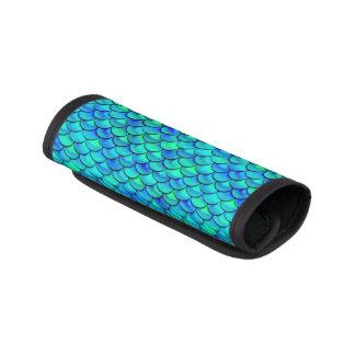 Aqua-Blau-Skalen Koffergriffwickel