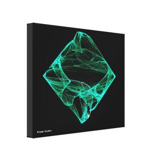 Aqua-Diamant Gespannte Galerie Drucke