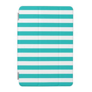 Aqua-horizontale Streifen iPad Mini Hülle