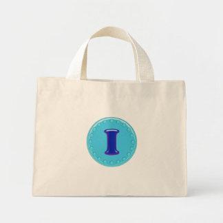 Aqua-Initiale I Einkaufstaschen