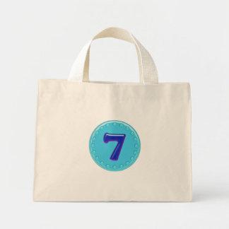 Aqua Nr 7 Einkaufstaschen