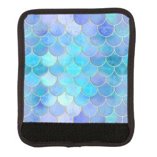 Aqua Pearlescent u. Goldmeerjungfrau-Skala-Muster Gepäckgriff Marker