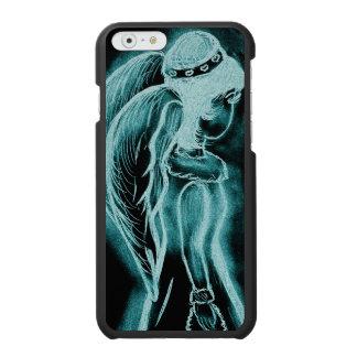 Aqua umgekehrter Engel Incipio Watson™ iPhone 6 Geldbörsen Hülle