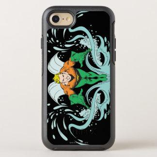 Aquaman, das vorwärts losstürzt OtterBox symmetry iPhone 8/7 hülle