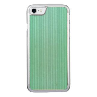 Aquamarine-aquamarines und grünes vertikale carved iPhone 8/7 hülle