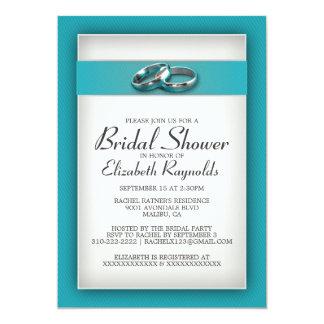 Aquamarine Brautparty-Einladungen 12,7 X 17,8 Cm Einladungskarte
