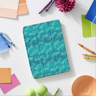 Aquamariner grüner Libellen-Sommer-hübsche iPad Pro Hülle