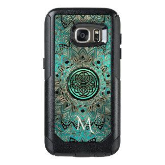 Aquamariner keltischer KnotenMandala Otterbox OtterBox Samsung Galaxy S7 Hülle
