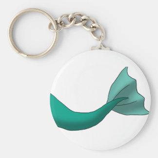Aquamariner Meerjungfrau-Schwanz Schlüsselanhänger