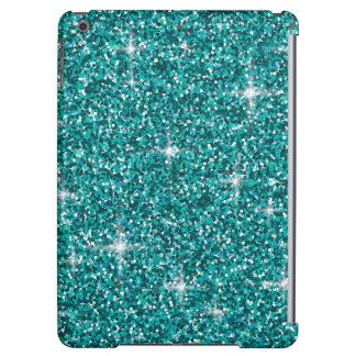 Aquamariner schillernder Glitter