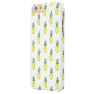 Aquarell-Ananas-Telefon-Kasten Barely There iPhone 6 Plus Hülle