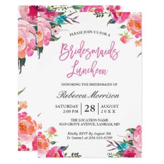 Aquarell-botanisches Brautjungfern-mit 12,7 X 17,8 Cm Einladungskarte