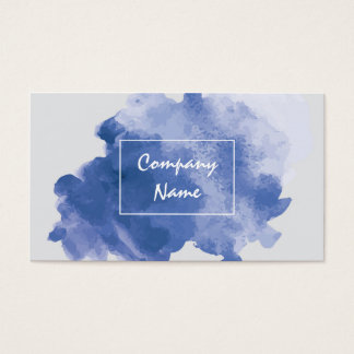 Aquarell-einzigartige Visitenkarten