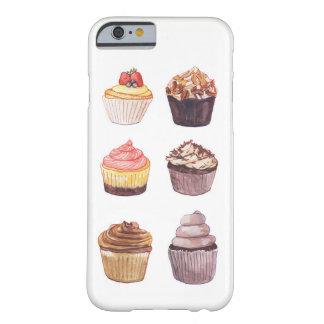 Aquarell-Kuchen-Telefon-Kasten Barely There iPhone 6 Hülle