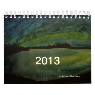 Aquarell-Kunst-Kalender 2013 Abreißkalender