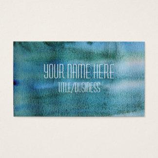 Aquarell-Visitenkarte Visitenkarte