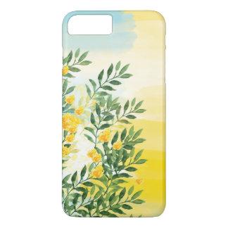 Aquarellblumensommer-Telefonkasten iPhone 8 Plus/7 Plus Hülle