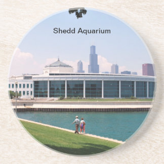 Aquariumsammlung Chicagos Shedd Getränkeuntersetzer