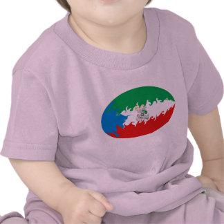 Äquatoriale Guinea-Gnarly Flaggen-T - Shirt