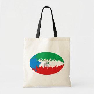 Äquatoriale Guinea-Gnarly Flaggen-Tasche
