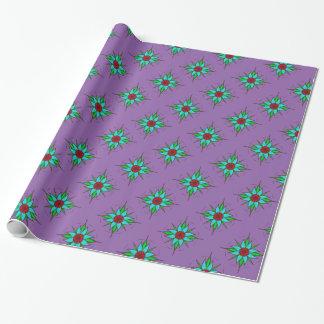 Aquilegia Blume Geschenkpapier