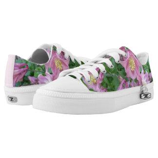 Aquilegia Blume Zipz niedrige Schuhe