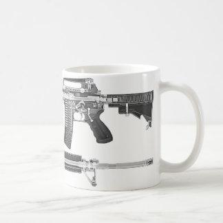 AR-15 CT Scan/RÖNTGENSTRAHL-AUSFÜHRLICHES BILD Kaffeetasse
