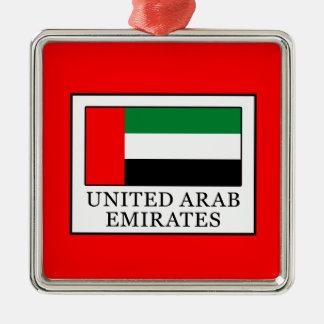 Arabische Emirate Silbernes Ornament