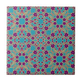 Arabisches marokkanisches Muster Fliese