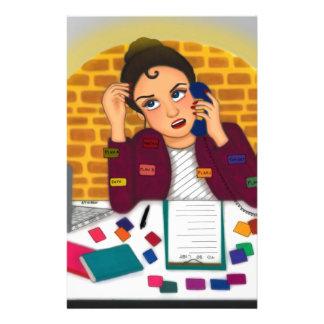 Arbeiten Personalisiertes Büropapier