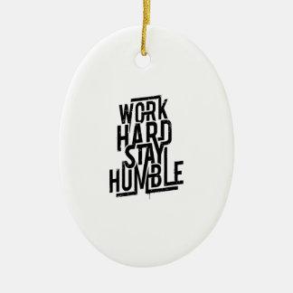 Arbeits-harter Aufenthalt bescheiden Keramik Ornament