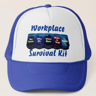 Arbeits-Woche/Platz-Überlebensausrüstung Truckerkappe